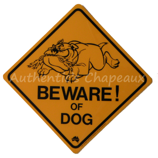 ROADSIGN AUSTRALIA - BEWARE OF DOG